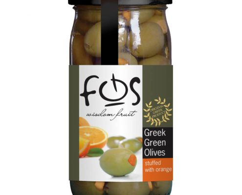 Fos green stuffed orange