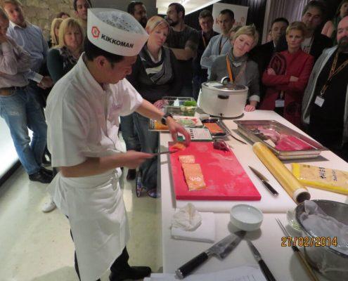 Kikkoman sushi event