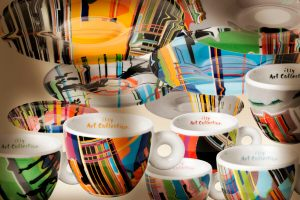 Illy art collection cup liu wei