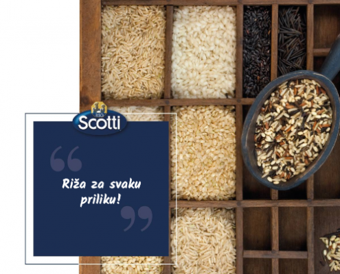 riso scotti vrste riža